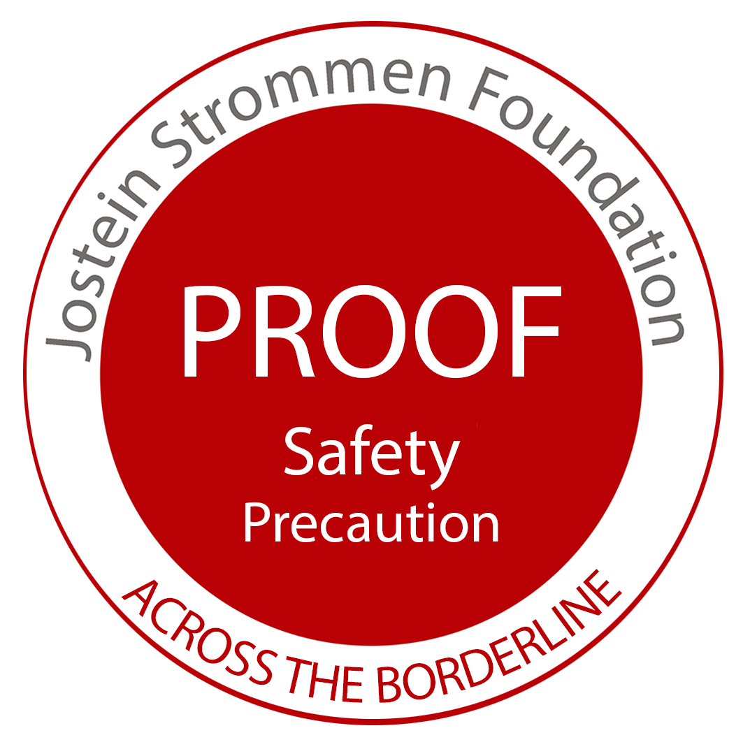 Jostein Strommen Foundation - Proof - Safety Precautions