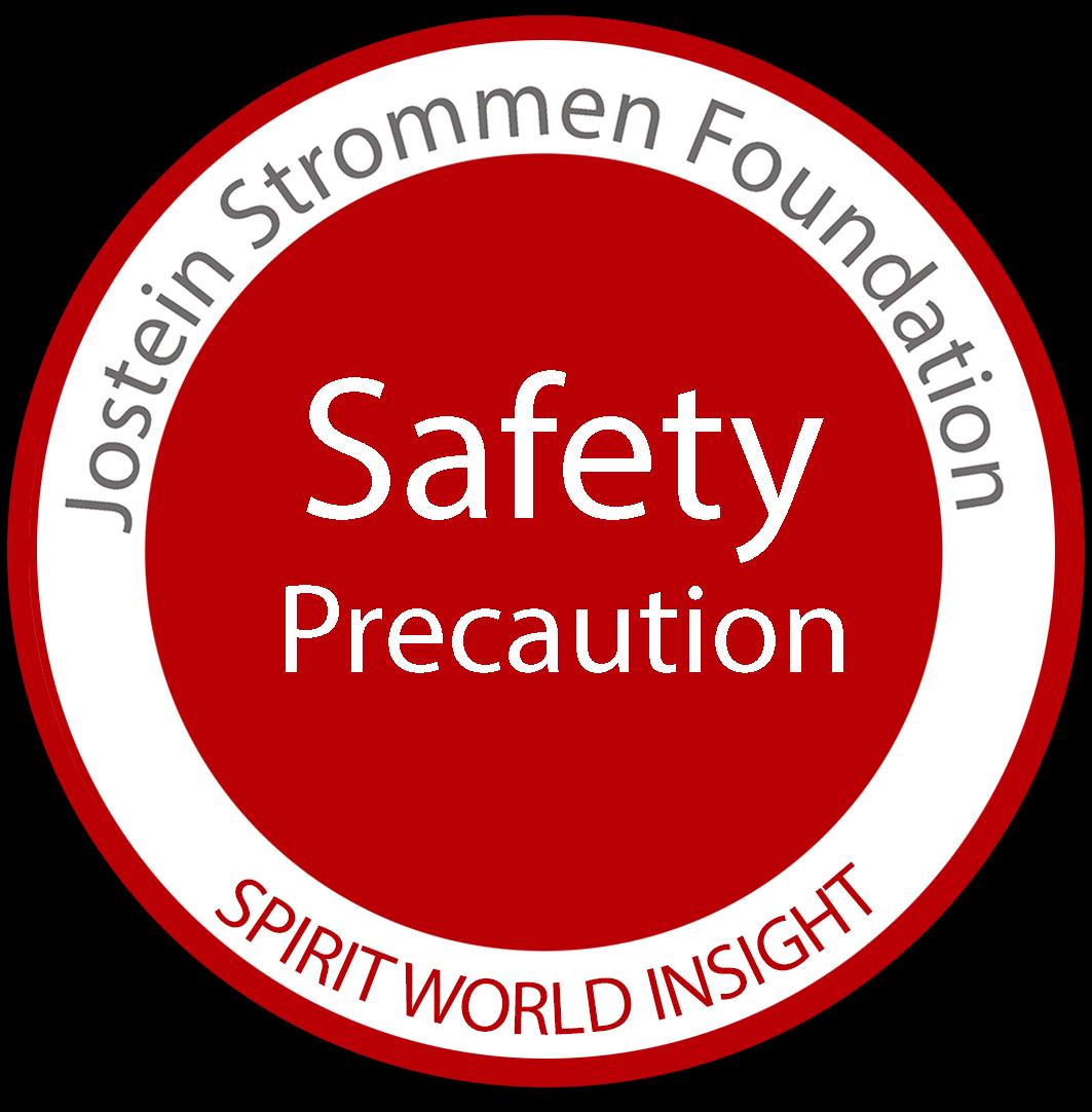 Jostein Strommen Foundation - Safety Precautions