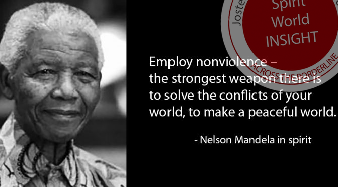 Nelson Mandela - Nonviolence - The Strongest Weapon