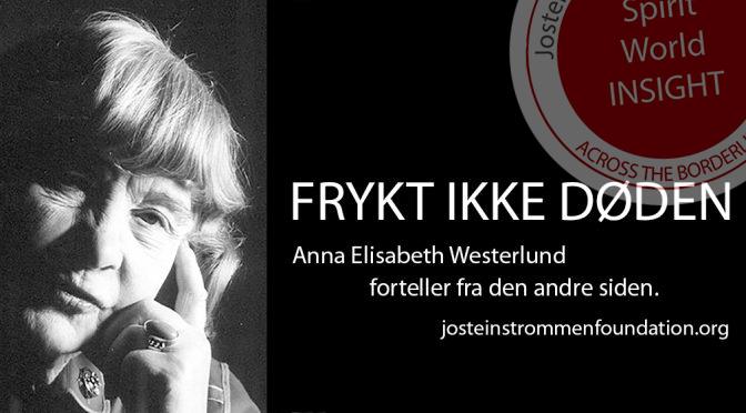Anna Elisabeth Westerlund - Frykt ikke døden