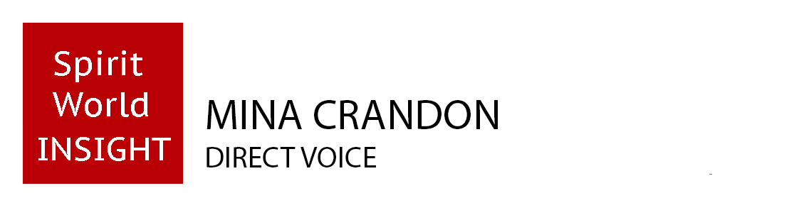 Mina Crandon - Direct Voice