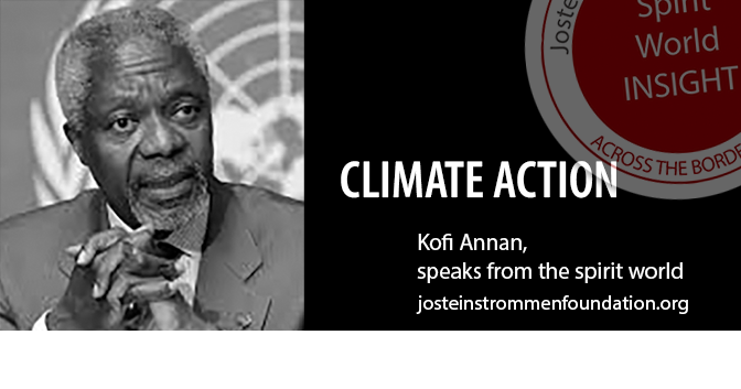 CLIMATE ACTION BY KOFI ANNAN