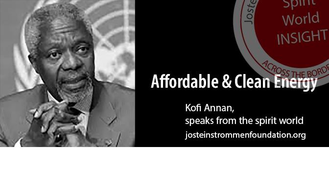 KOFI ANNAN - Affordable Clean Energy